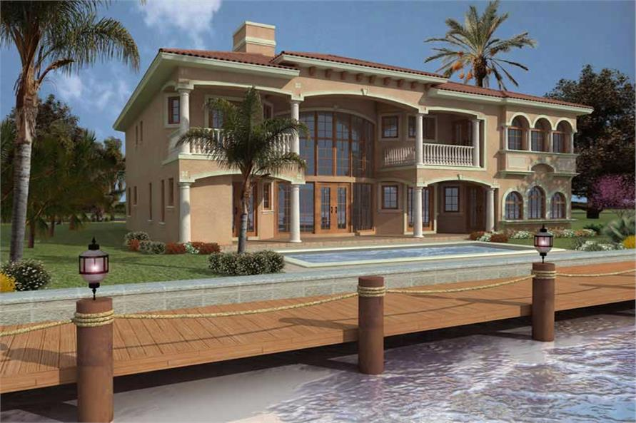 Luxury Home with 5 Bdrms, 5536 Sq Ft | Floor Plan #107-1093