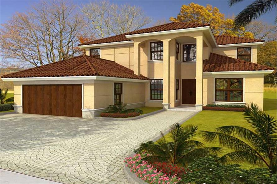 Main image for house plan # 18064