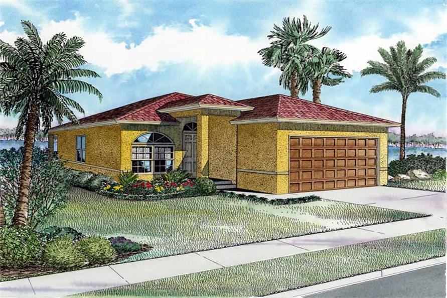 Main image for house plan # 17733