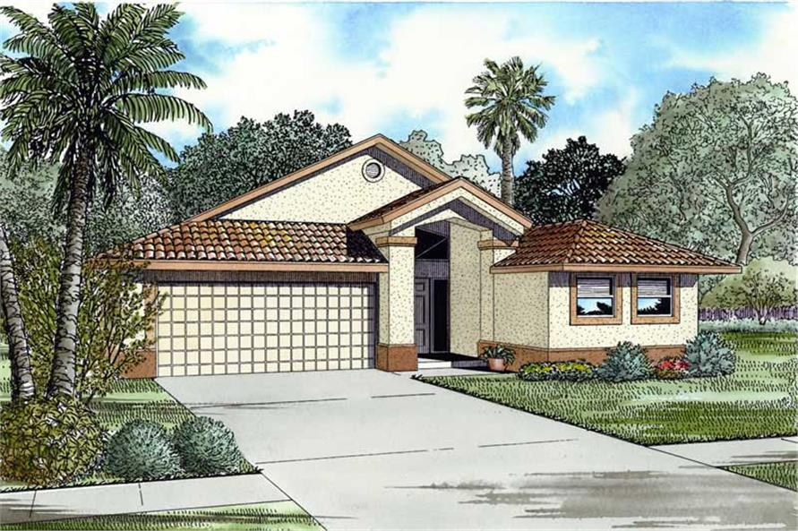 Main image for house plan # 17536