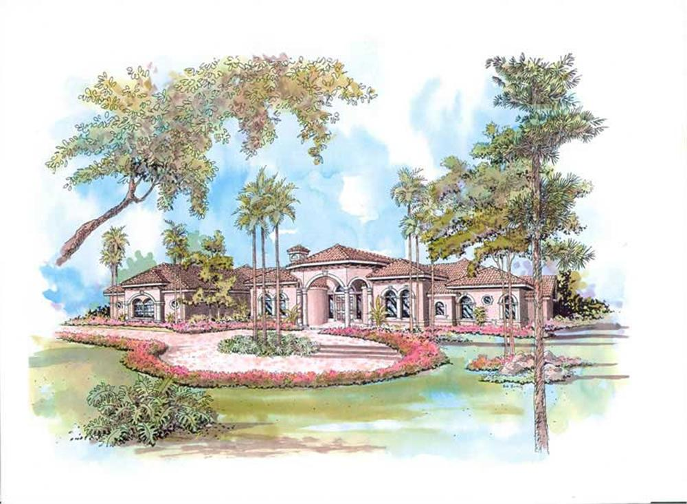 Main image for house plan # 17539