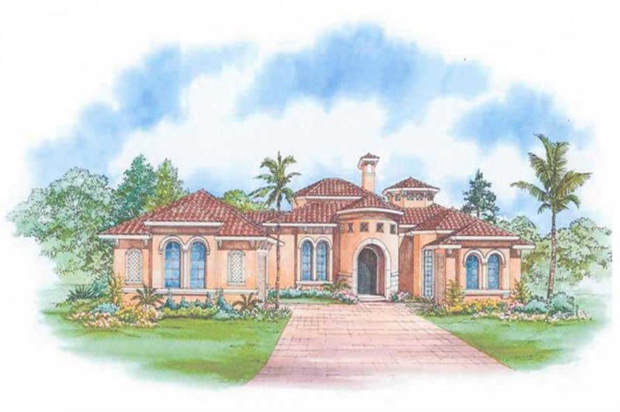 Main image for house plan # 17541