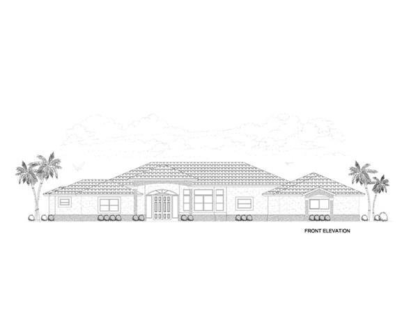 107-1145: Home Plan Front Elevation