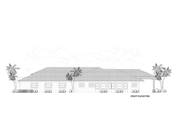 107-1145: Home Plan Right Elevation