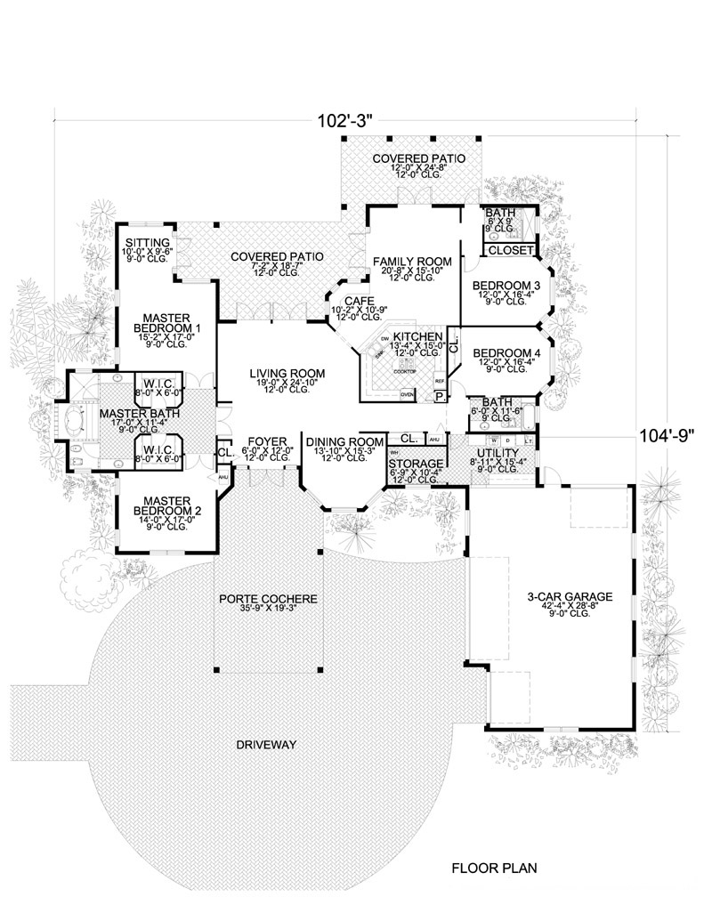 107-1145: Floor Plan Main Level
