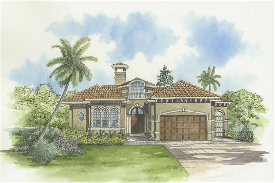 Main image for house plan # 18056