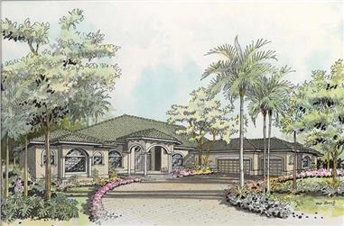 Main image for house plan # 17542