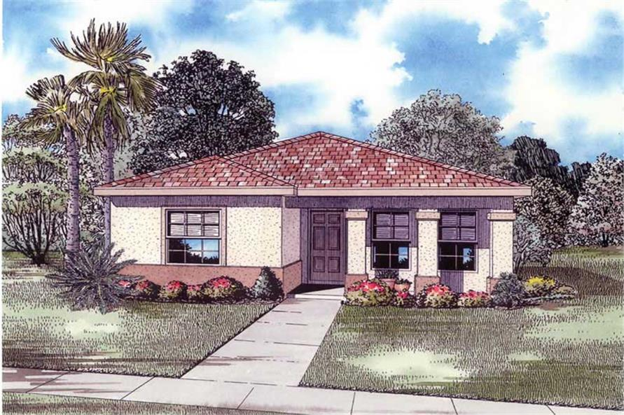 Main image for house plan # 17500