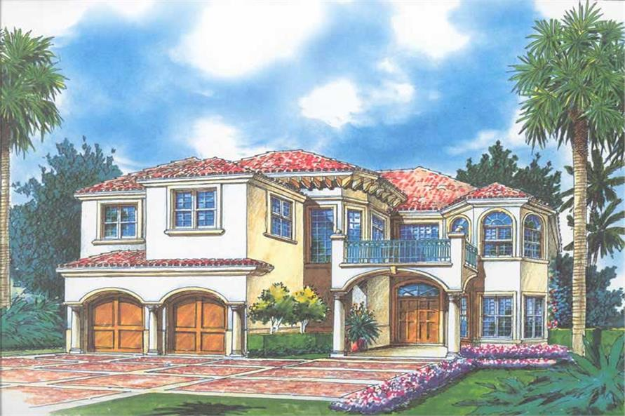 Rendering of this 4-Bedroom,3869 Sq Ft Plan -3869