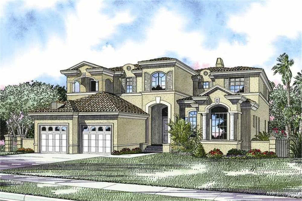 Main image for house plan # 17730