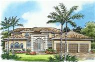Main image for house plan # 10020