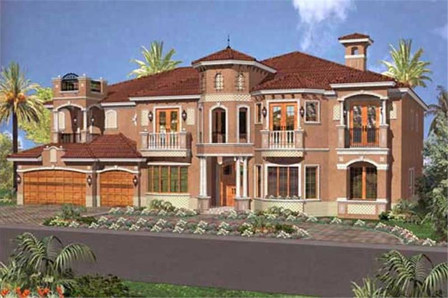 coastal home with 7 bedrooms 6412 sq ft house plan 107 1182