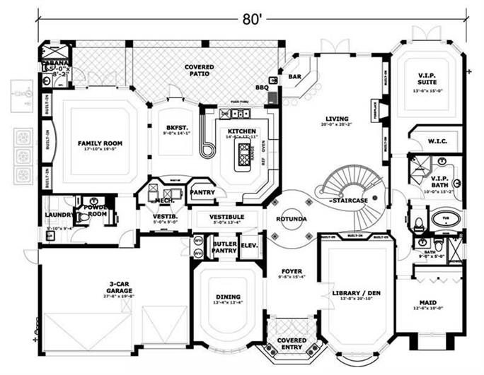Family circle house plans escortsea for Circle house plans