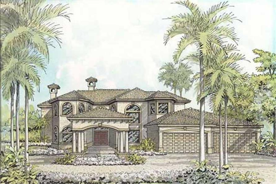 Main image for house plan # 17755