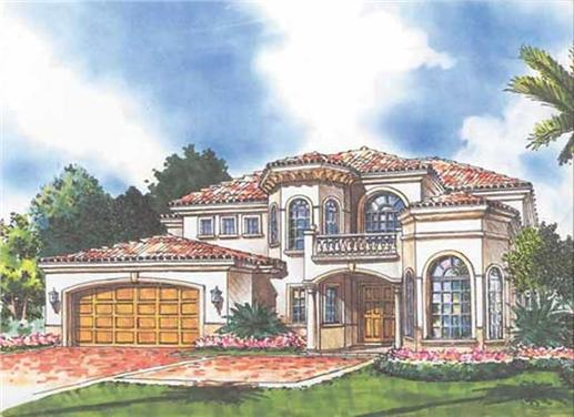 Main image for house plan # 17783