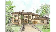 Luxury Plans color rendering 107-1196.