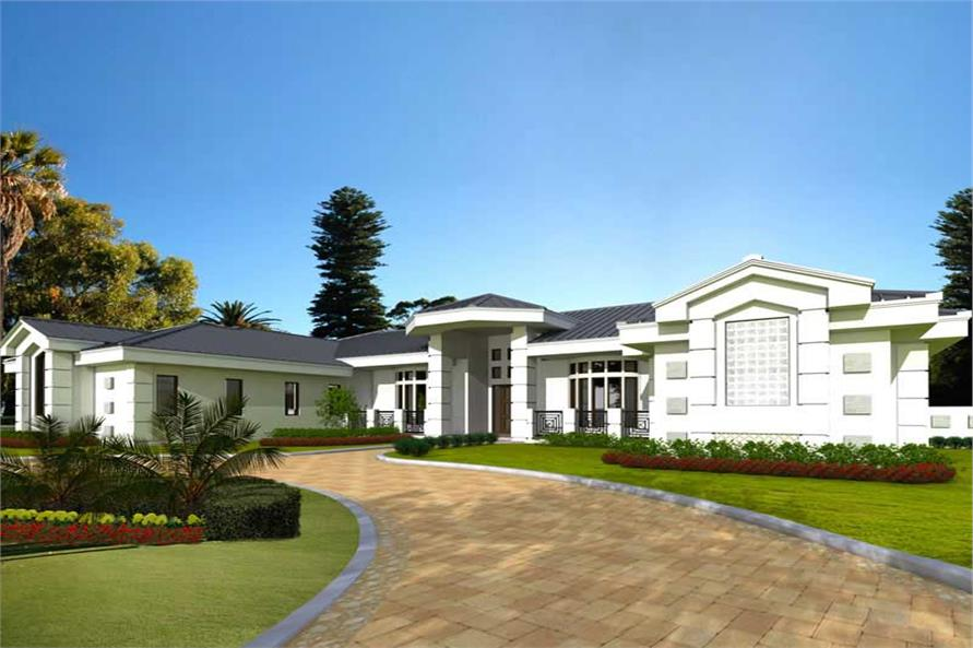 Main image for house plan # 17593