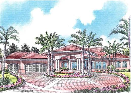 Main image for luxury house plan # 17585