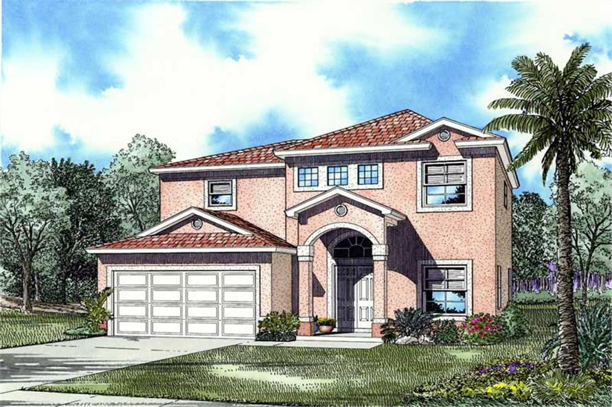 Main image for house plan # 17602
