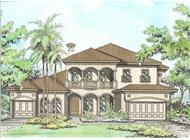 Main image for house plan # 9781