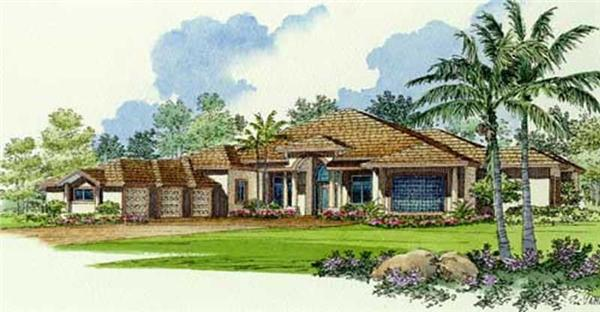 Main image for house plan # 10013