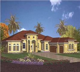 House Plan #107-1221