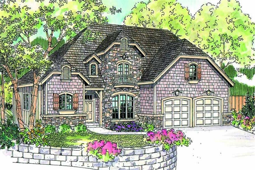Main image for house plan # 21098