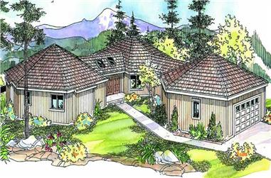 Main image for house plan # 21090