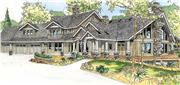 View house Plan#108-1017