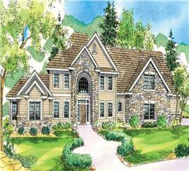 House Plan #108-1025