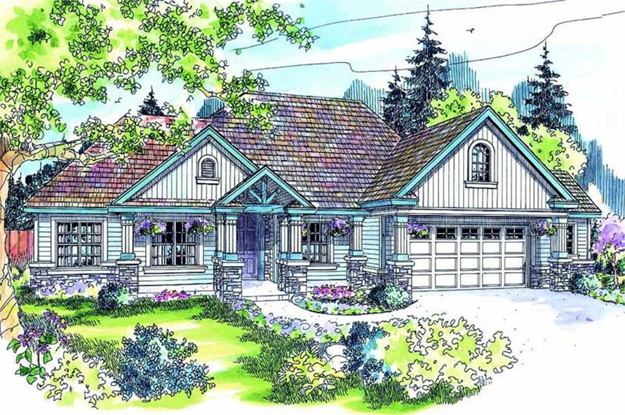 Main image for house plan # 21096
