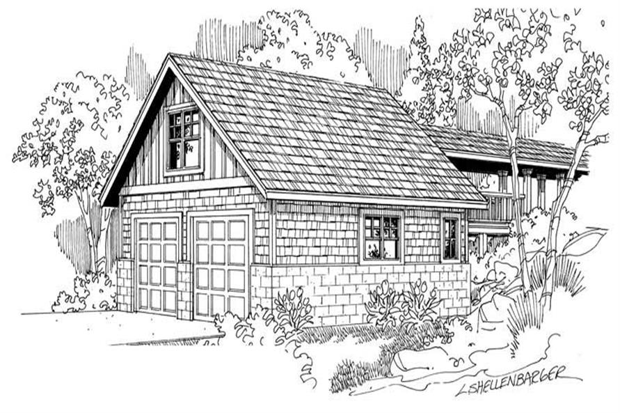Main image for house plan # 21224