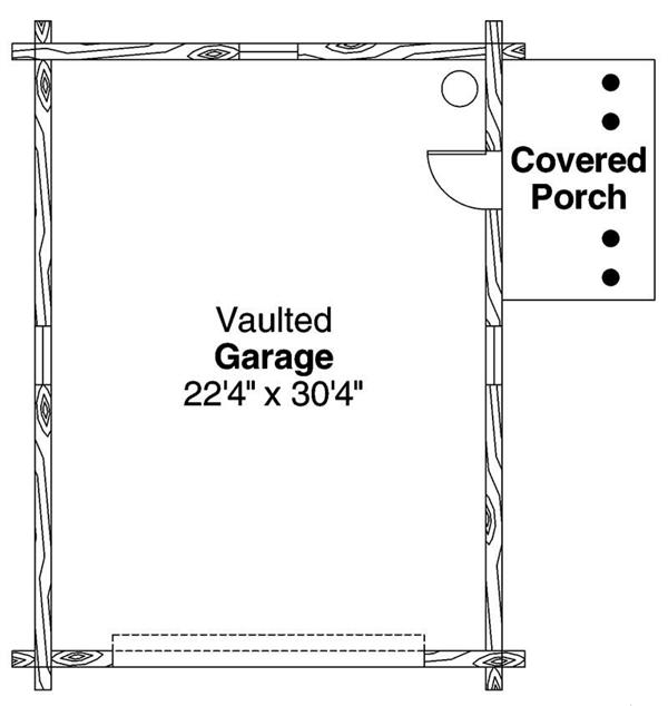 Garage Floor Plan ADI-20-012