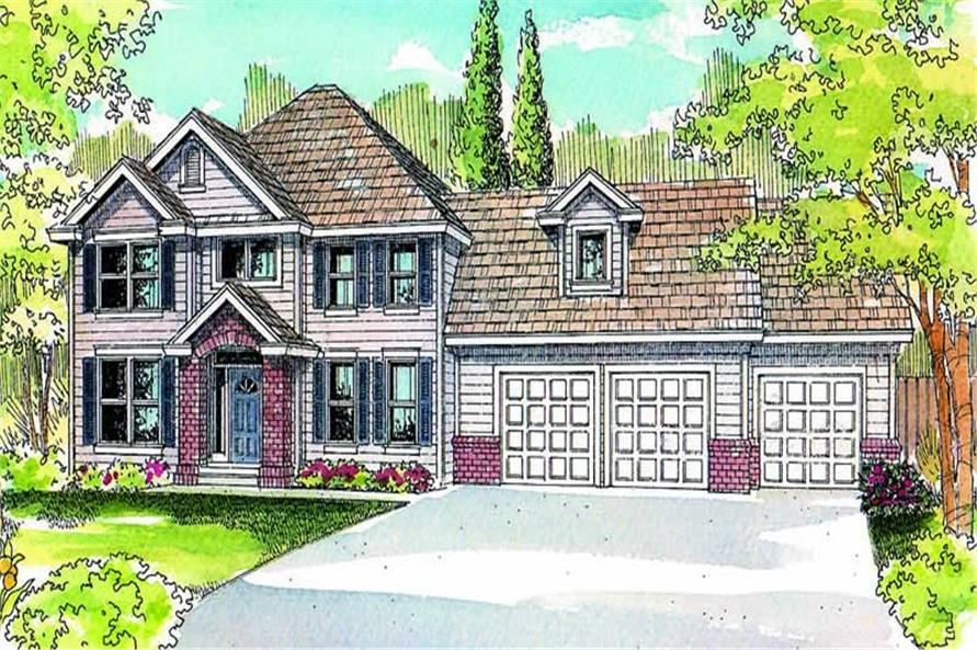 Main image for house plan # 21227