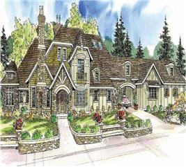 House Plan #108-1050