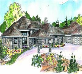 House Plan #108-1055