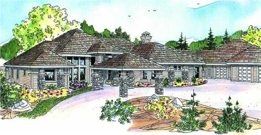 Main image for house plan # 21114