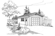 Main image for house plan # 21215