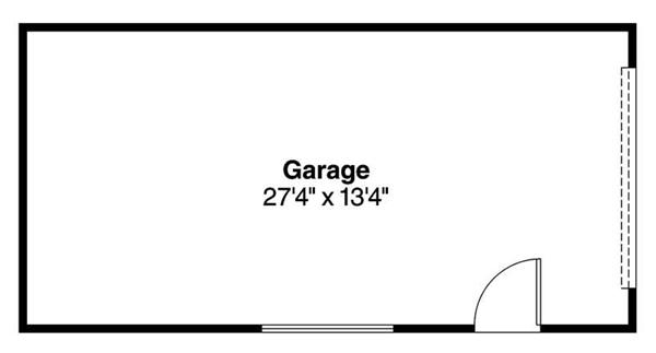 Garage Floor Plan ADI-20-004
