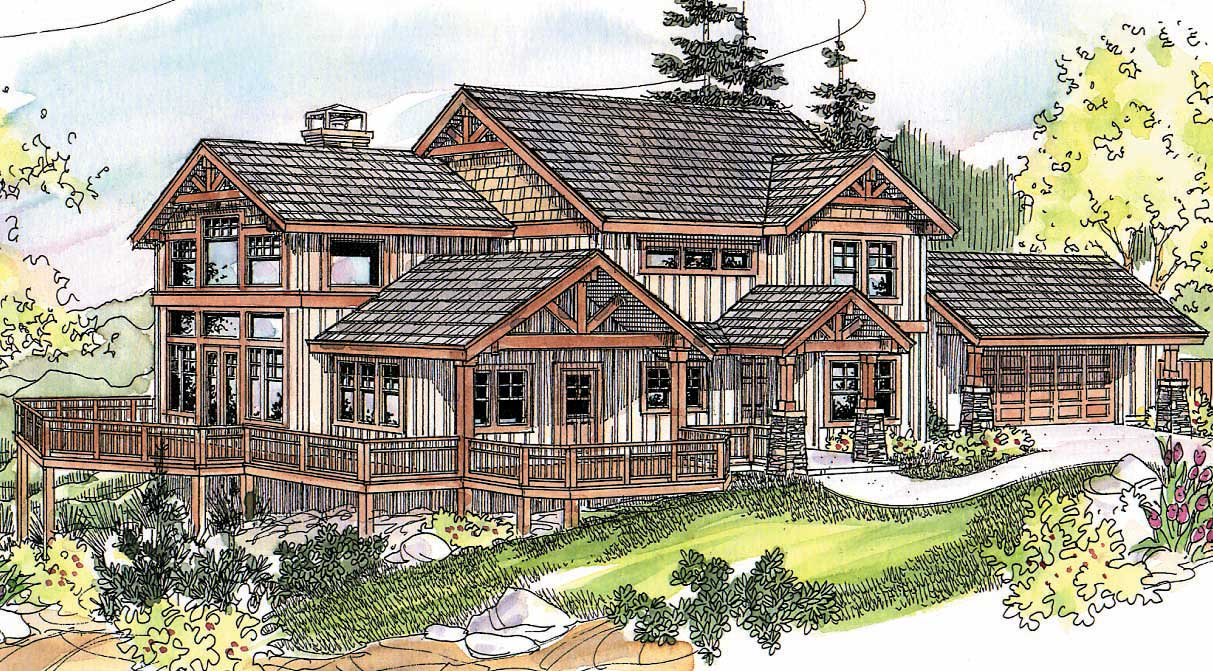 Craftsman Home With 3 Bedrooms 2726 Sq Ft House Plan