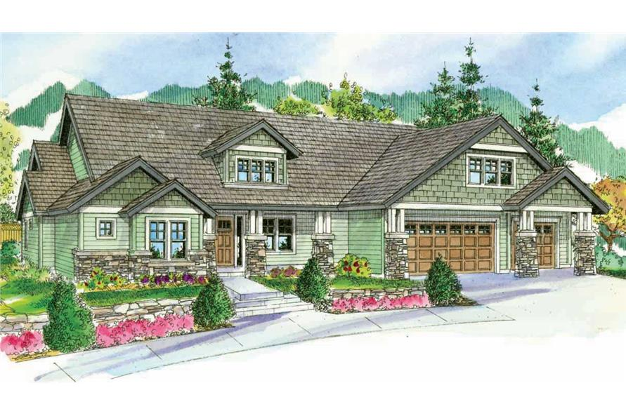4-Bedroom, 3739 Sq Ft Cape Cod House Plan - 108-1068 - Front Exterior