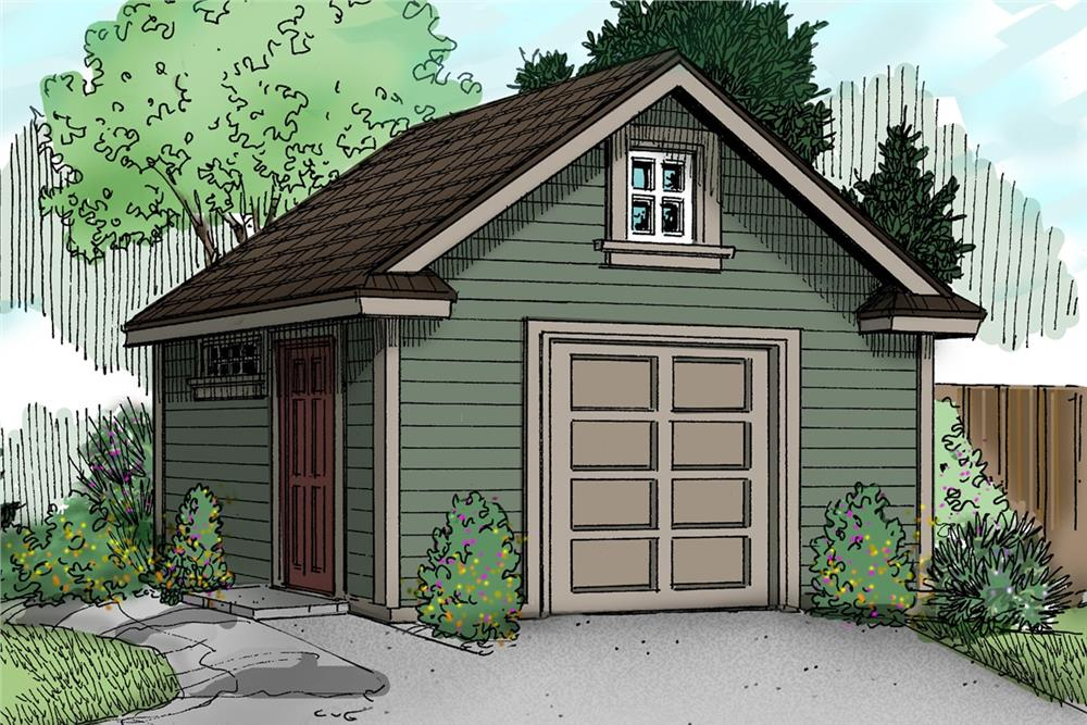 Color rendering of specialty plan #108-1073