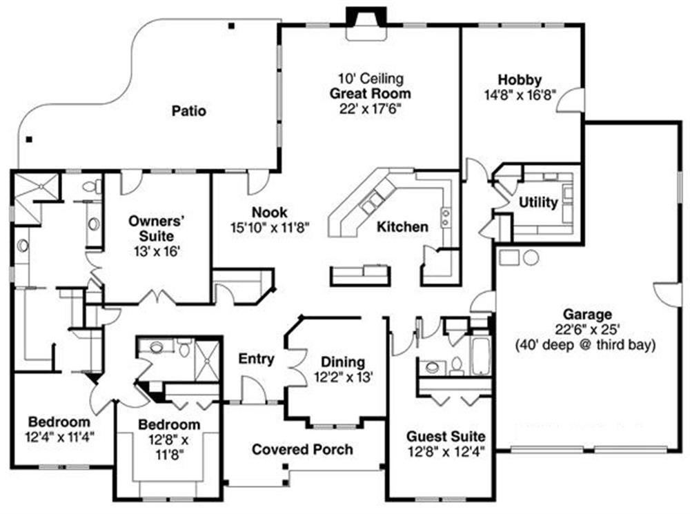 108-1094: Floor Plan Main Level