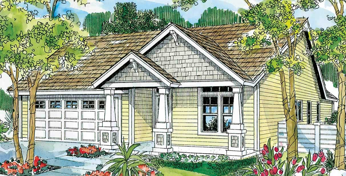 Country Craftsman Home With 3 Bdrms 1500 Sq Ft Floor