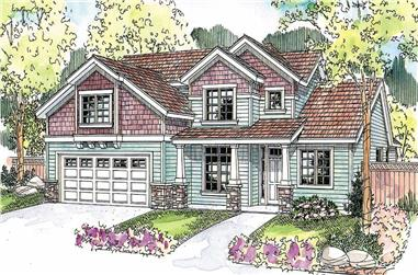 3-Bedroom, 2238 Sq Ft Cape Cod House Plan - 108-1120 - Front Exterior