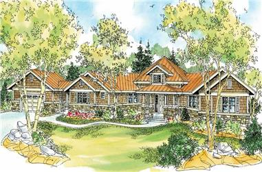 3-Bedroom, 2913 Sq Ft Craftsman Home - Plan #108-1123 - Main Exterior