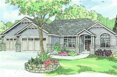 3-Bedroom, 2489 Sq Ft Country House - #108-1126 - Front Exterior