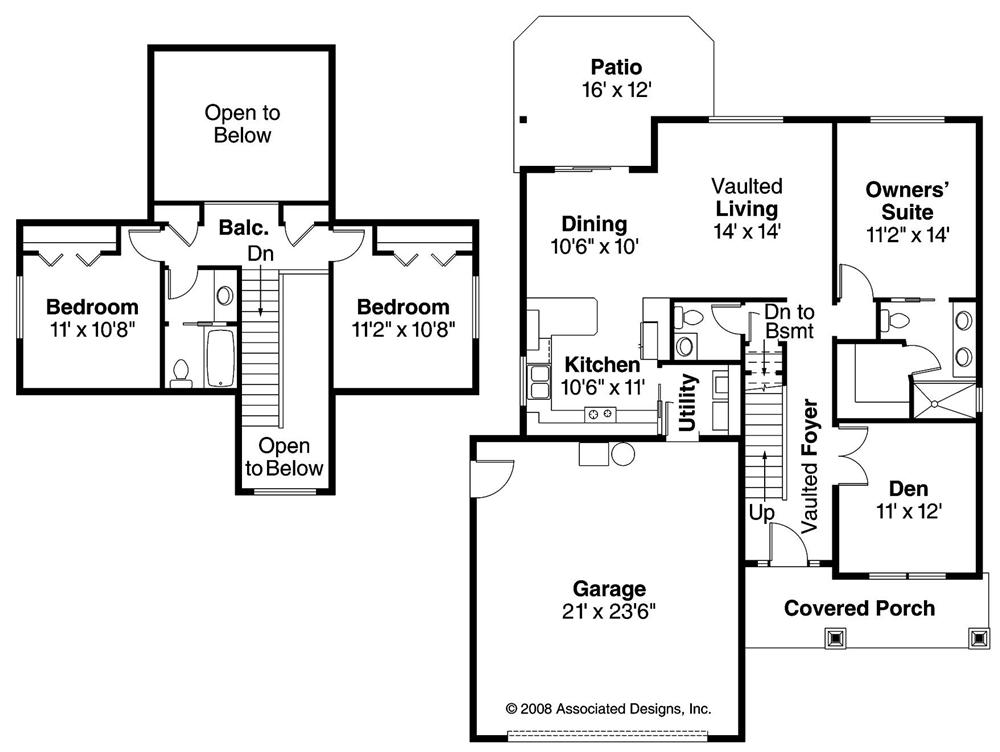 Large Images For House Plan 108 1151