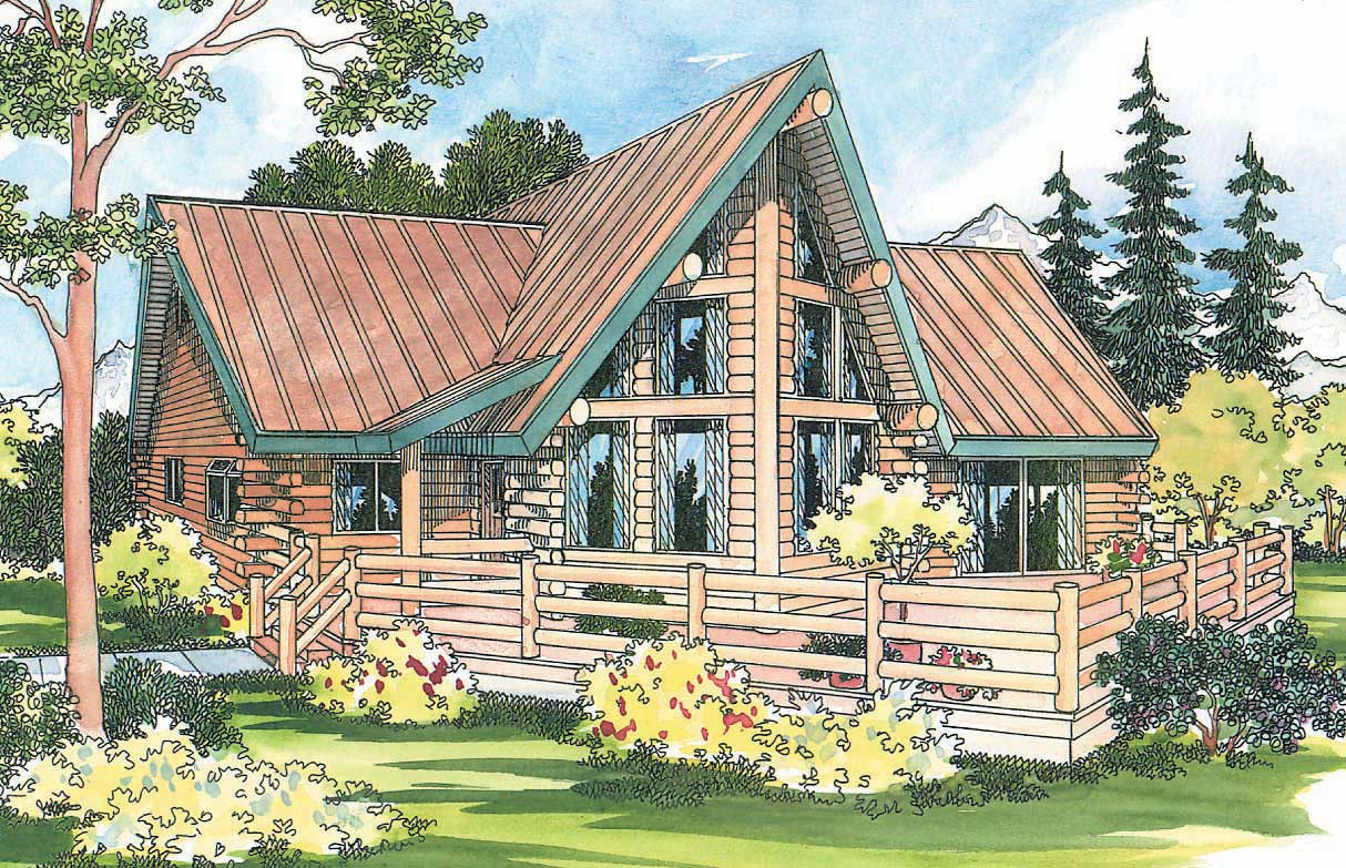 a frame house floor plans log cabin small home with 2 bdrms 1384 sq ft floor plan 108 1154 3891