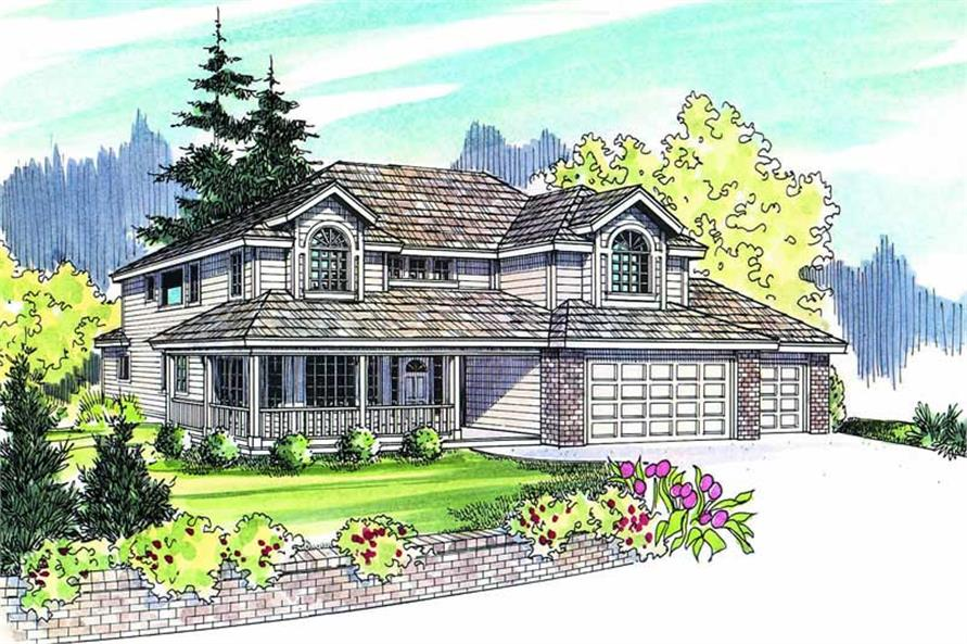 Main image for house plan # 2983
